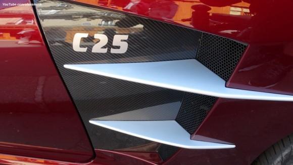 Un raro Carlsson C25 Royale se deja ver en París