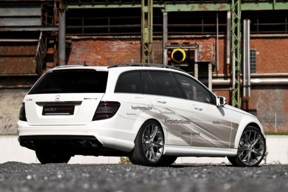 Mercedes C63 AMG T-Modell, la última bestia de Edo Competition