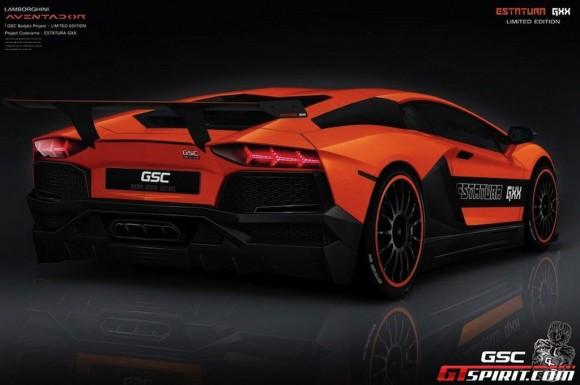 Lamborghini Aventador Estatura GXX