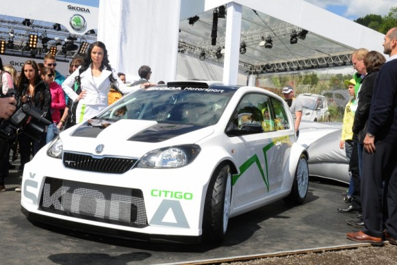 Skoda Citigo Rally, en directo