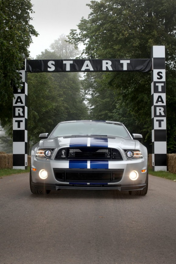 Ford lleva un Shelby GT500 de 662 caballos a GoodWood