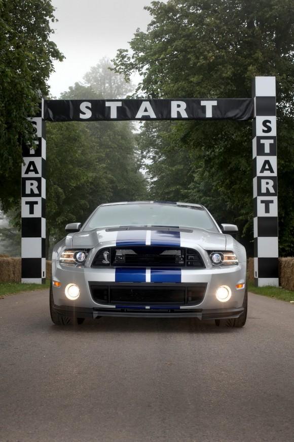 Ford lleva un Shelby GT500 de 662 caballos a GoodWood