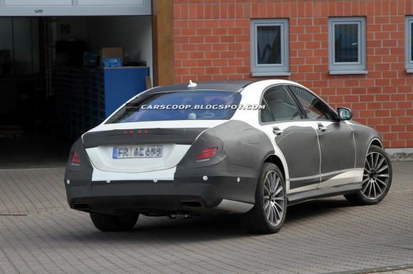 Fotos espía: Mercedes Clase S AMG 2014