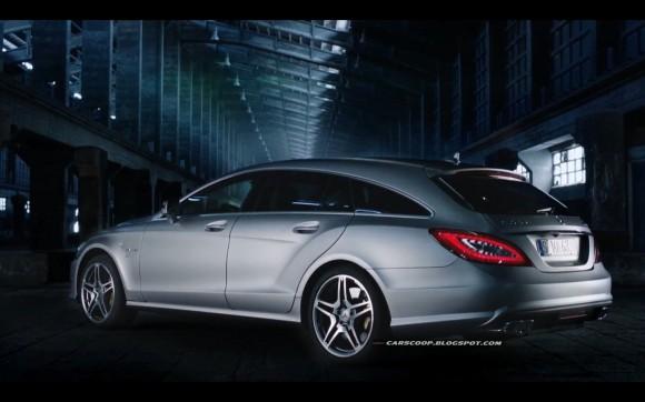Mercedes CLS63 AMG Shooting Brake, desvelado por error en vídeo