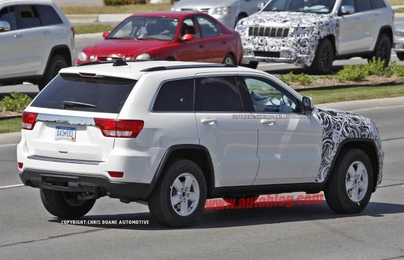 Jeep Grand Cherokee 2014, primeras fotos espía
