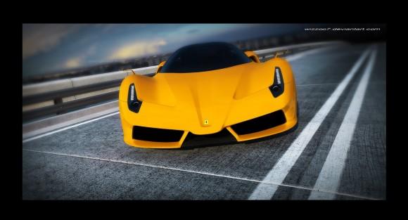 Ferrari F70 bajo la mirada de David Williams