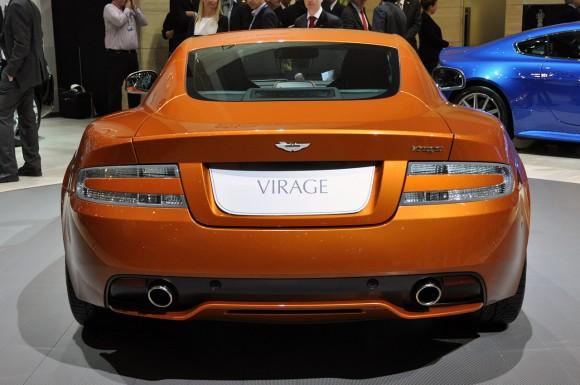 Aston Martin dejará de fabricar el Virage ante de lo previsto