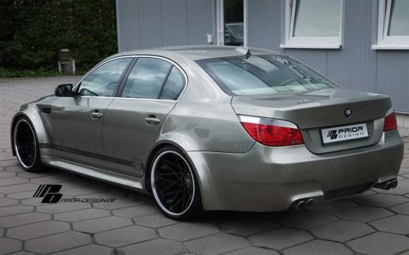 BMW Serie 5 E60 aires deportivos para una berlina descatalogada