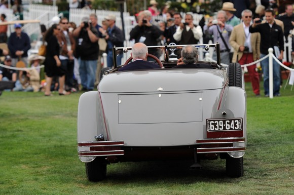 Pebble Beach 2012: Mercedes-Benz 680S Saoutchik Torpedo
