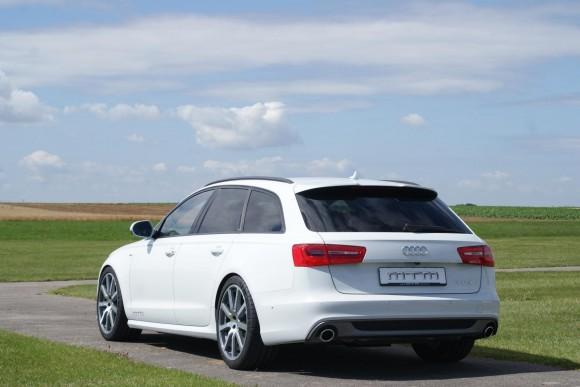 Audi A6 Avant  bajo el rodillo de MTM