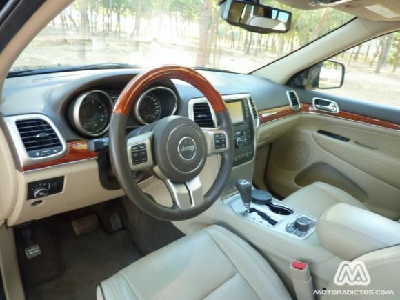 Prueba Jeep Grand Cherokee 3.0 CRD 240 caballos (parte 1)