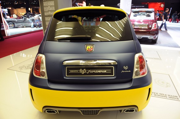 París 2012: Abarth 695 Fuori Serie Olio Fiat