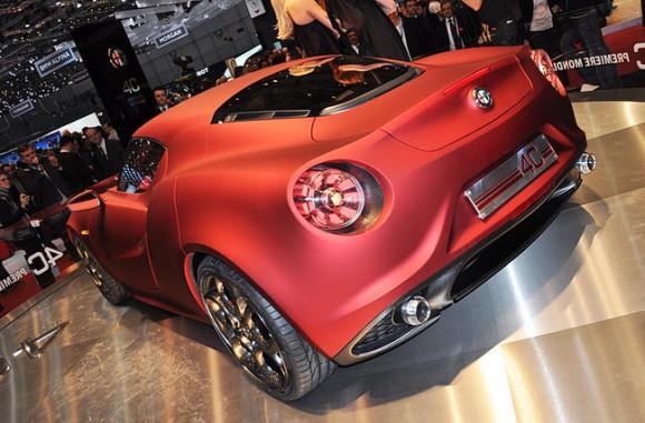 Alfa Romero podría presentar el nuevo 4C en Ginebra