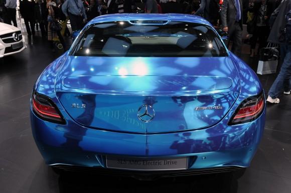 París 2012: Mercedes SLS AMG Electric Drive