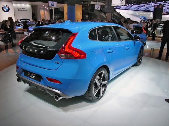 París 2012: Volvo V40 R-Design