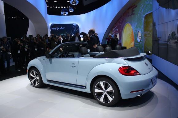 Los Ángeles 2012: Volkswagen Beetle Cabriolet