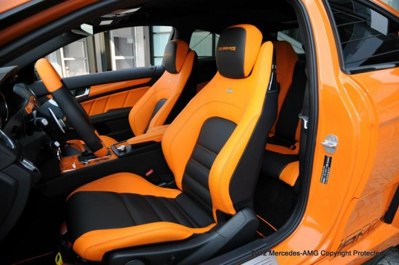 Mercedes C63 AMG Coupe Black Series Halloween Edition