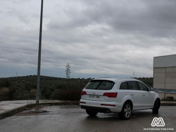 Prueba Audi Q7 V8 4.2 TDI 340 caballos (parte 1)