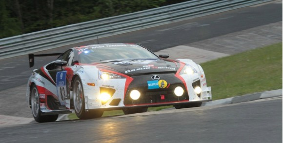 Lexus LFA y Toyota GT86, directos a las 24 Horas de Nürburgring