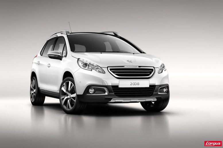 Peugeot 2008 muestra su cara