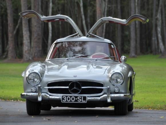 Mercedes 300SL Gullwing a subasta