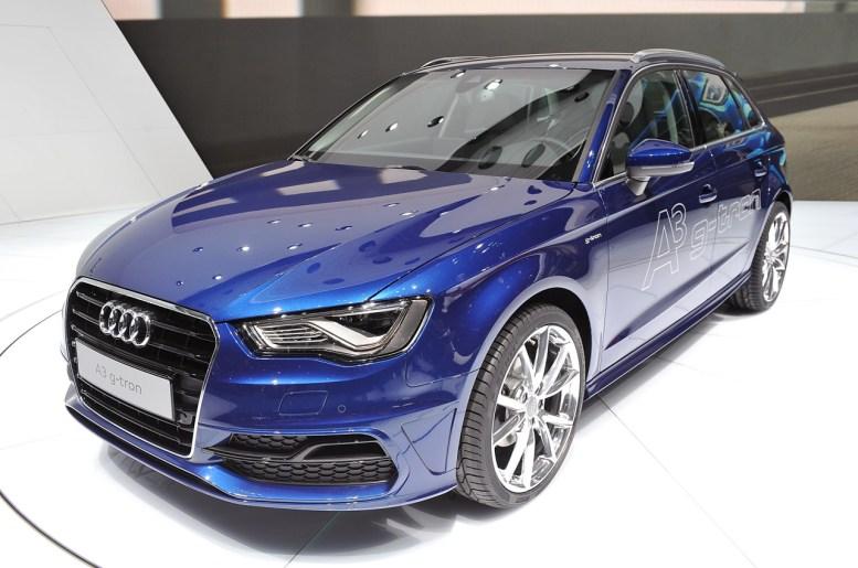 Ginebra 2013: Audi A3 g-tron