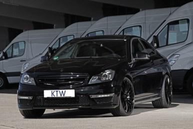 Mercedes C63 AMG Coupé por KTW Tuning