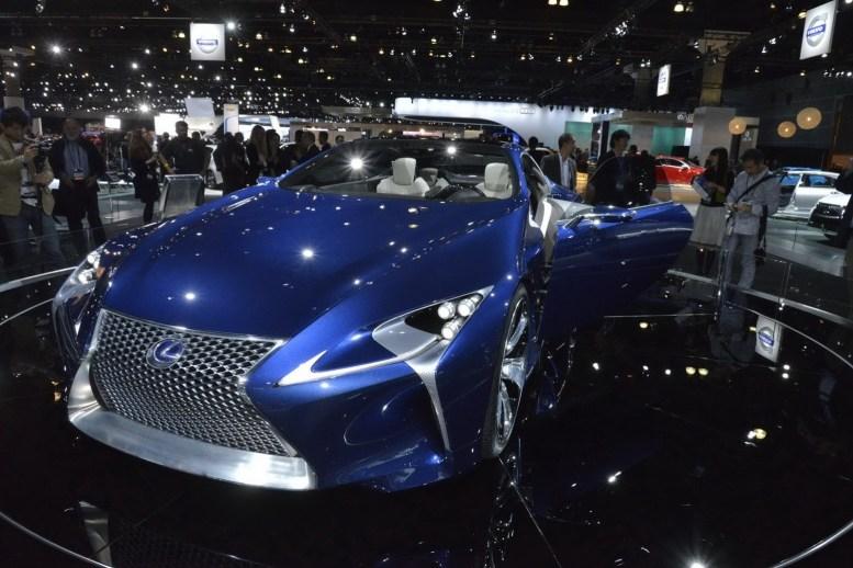 Lexus confirma una versión de producción basada en el LF-LC Concept