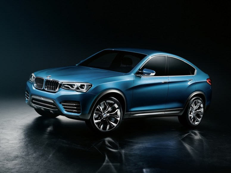 BMW X4, filtradas las primeras imágenes