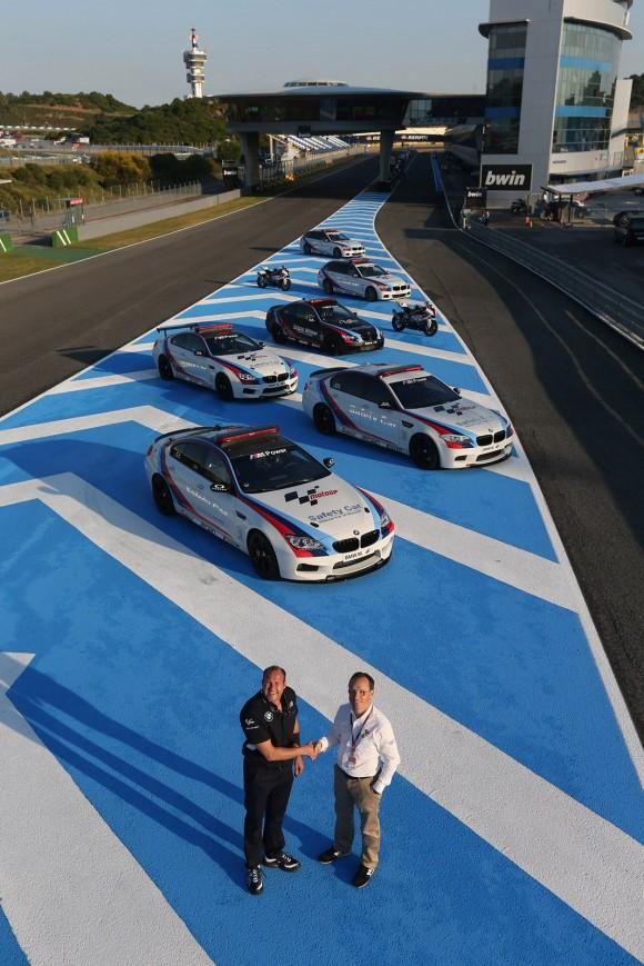 Un BMW M6 para el mejor piloto de MotoGP