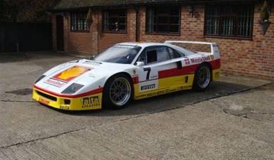 Ferrari F40 GT Racer de Michelotto a la venta