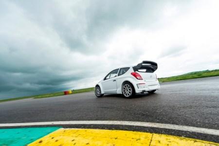 HYUNDAI WRC - FIRST TRACKS TESTS PHOTO: VINCENT CURUTCHET / DARK FRAME / HYUNDAI MOTORSPORT