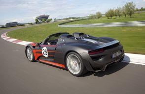 Oficial: Porsche 918 Spyder
