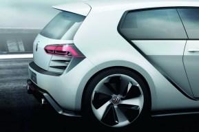 Volkswagen Golf Design Vision GTI, todos los detalles y fotos en vivo