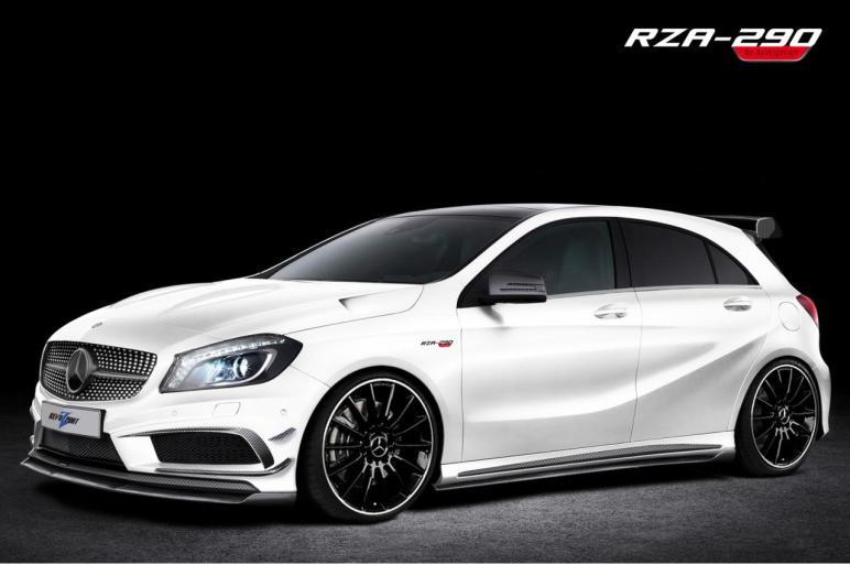 RevoZport se atreve con el Mercedes Clase A