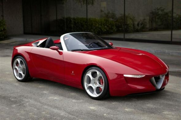 El Alfa Romeo Spider podría ser un Abarth