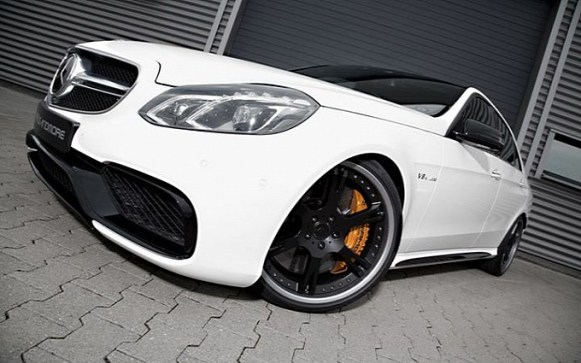 Mercedes E63 AMG por Wheelsandmore