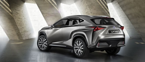 Lexus LF-NX Concept, un SUV de aspecto radical para Fráncfort