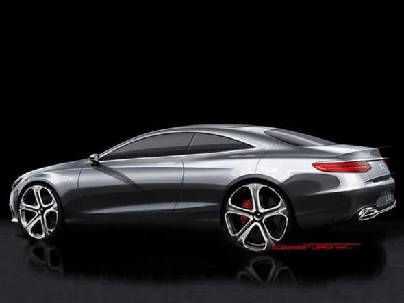 Mercedes Clase S Coupé, bocetos oficiales