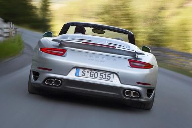 Porsche 911 Turbo y Turbo S Cabrio: nueveonce sobrealimentado a cielo abierto