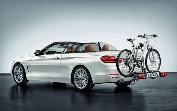 BMW nos muestra las primeras imágenes del Serie 4 Cabrio