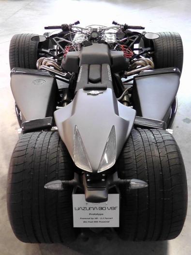 Wazuma V8F Matt Edition, un vehículo difícil de catalogar