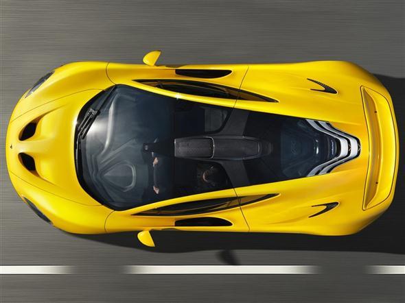 El McLaren P13 estará en el Salón de Ginebra...