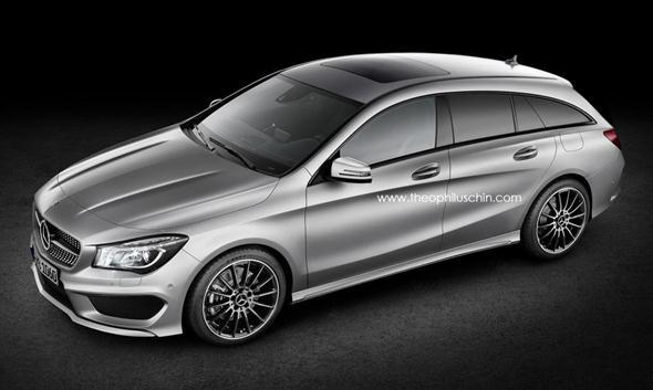 Primeras fotos espía del Mercedes CLA Shooting Brake 2