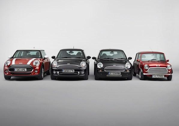 MINI 2014: Una nueva generación para el emblemático utilitario inglés