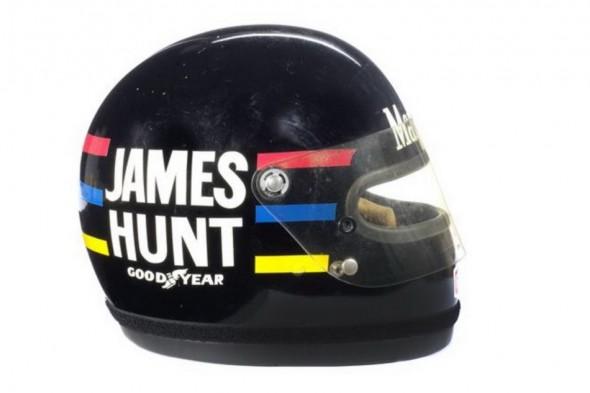 A subasta el casco de James Hunt 4