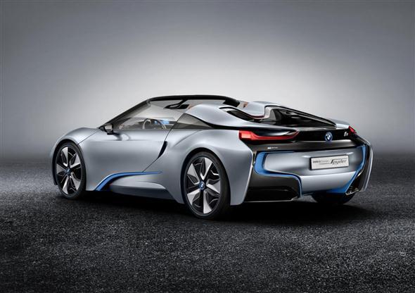 El BMW i8 Spyder irá a producción 1