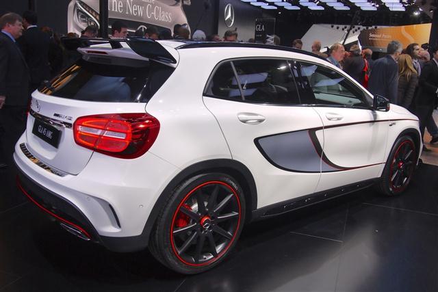 Detroit 2014: Mercedes GLA 45 AMG 2
