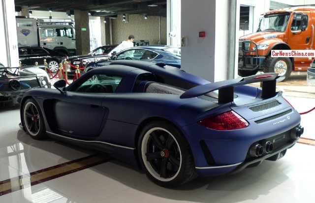 Gemballa Mirage GT Matte Blue Edition a la venta
