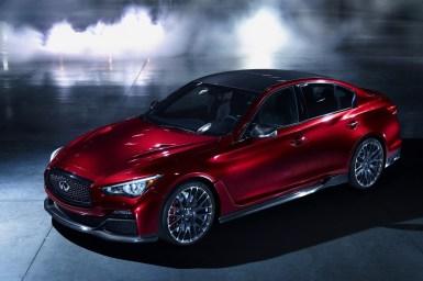 Infiniti Q50 Eau Rouge Concept, el anti-M3 ha llegado